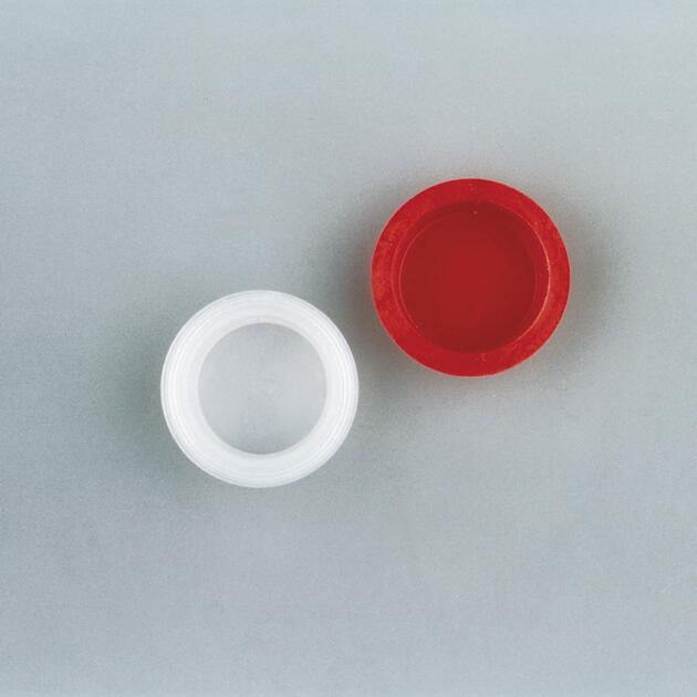 Afdichtdop Ø 17 mm, rood