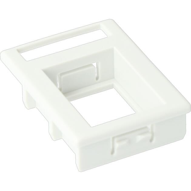 Adapter BL, type 20,4 mm met labelvenster