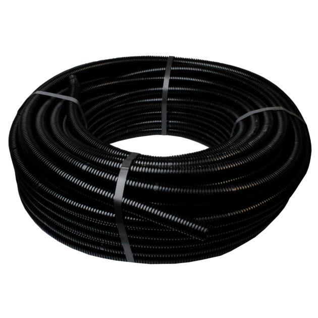 Electroflex zwart Ø 25 mm