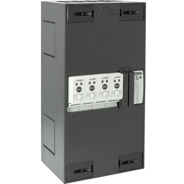1Gb POF Base Unit-4 outlets