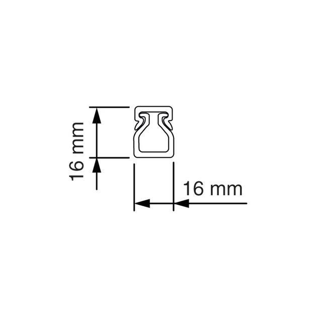 VK 16x16 Bedradingskoker