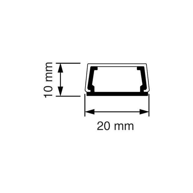 MK 10 Mini-koker bruin (RAL 8014)