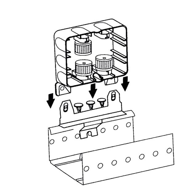 AK2-S Flat mounting plate