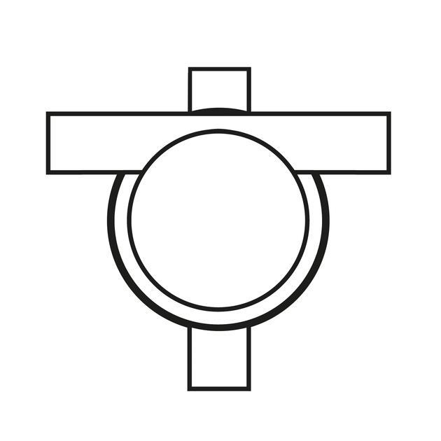 Kruisdoos Ø 16 mm