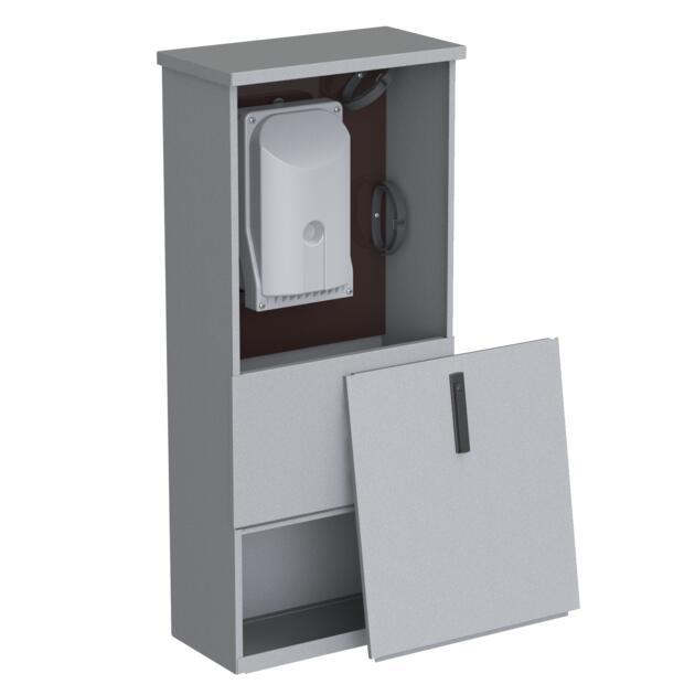 Straatkast + Hybride FMB (24v) - 48HS/8mm WC